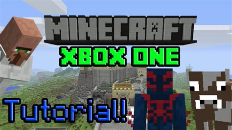 Minecraft Xbox One  Tutorial World (achievements!) Youtube