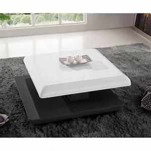 Table Basse Carrée Design : table basse design monica laqu e carr e avec achat vente table basse table basse design ~ Teatrodelosmanantiales.com Idées de Décoration