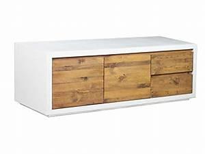 Tv Regal Holz : woodkings tv bank burnham lowboard aus akazien holz rustikal korbus mdf weiss tv regal ~ Indierocktalk.com Haus und Dekorationen