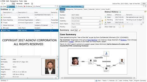law enforcement case management software agnovi corporation