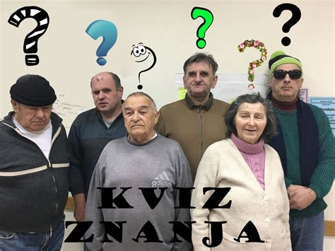 Kviz znanja - Udruga slijepih SMŽ Sisak | I. Meštrovića 32