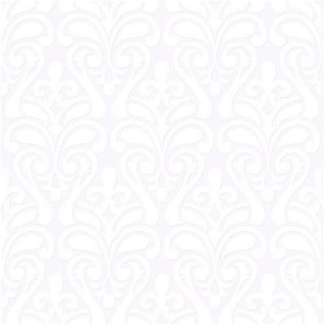 Papel de Parede Branco Arabesco no Elo7 GF CASA DECOR