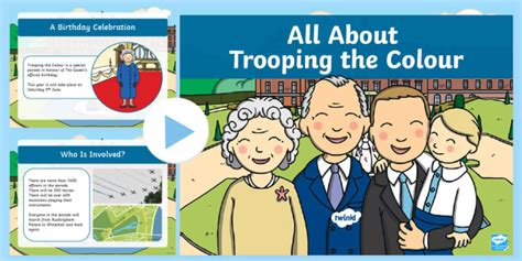 * New * Eyfs Ks1 All About Trooping The Colour Powerpoint