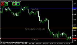Single Click Order Entry With Risk Control For Metatrader4