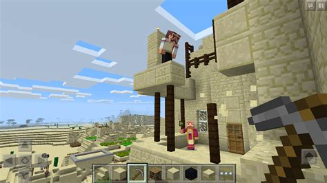 Minecraft Mobile by Minecraft Players On Windows 10 And Mobile Can Now Build