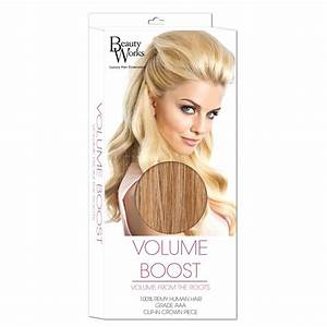 Beauty Works Volume Boost Hair Extensions - 613/16 ...