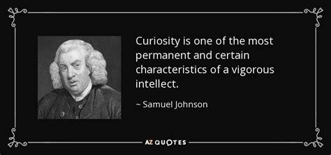 samuel johnson quote curiosity