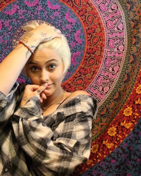 Paris Jackson Shares Topless Photos Love Of Being Nude