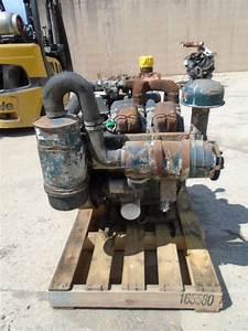 R  F  Engine Wisconsin V465d Engine Complete 6135216 Good