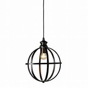 Home decorators collection light globe bronze pendant