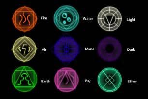 handy designs elemental glyphs by thecursed54 on deviantart