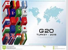 G20 Country Flags Stock Illustration Image 49772476