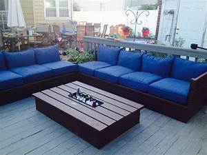 ana white pallet style outdoor platform sectional With outdoor sectional sofa plans ana white
