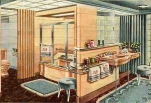 1940s bathroom design 21 ideas for your 1940s ranch bungalow or cape 40s kitchens living rooms bathrooms and more