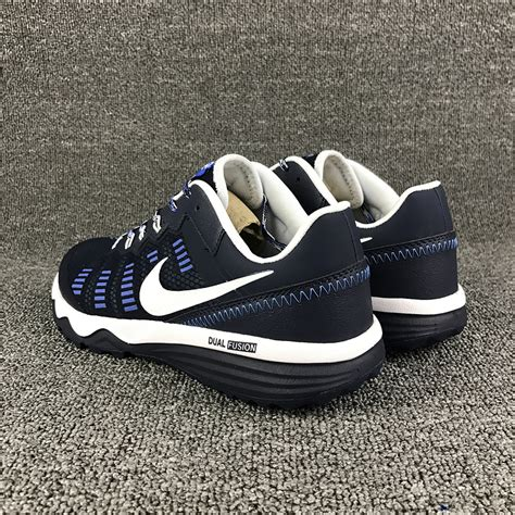 comfortable nike shoes comfortable nike dual fusion trail 2 navy blue white s