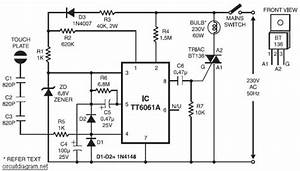 Touch Control Dimmer Diagram