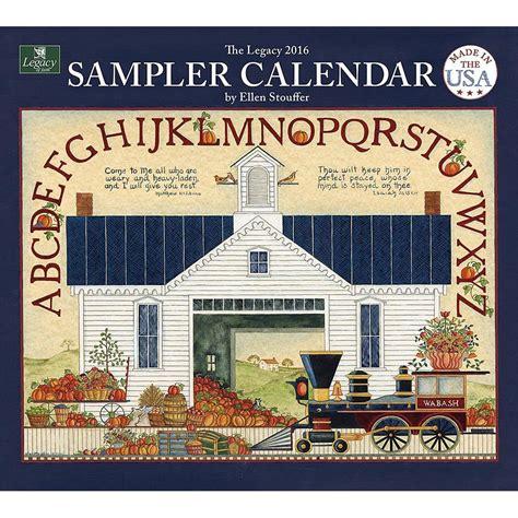 sampler stoufferwall calendar wall calendars calendar