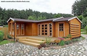Chalet En Bois Habitable D Occasion : fabricant constructeur de kits chalets bois habitables stmb ~ Melissatoandfro.com Idées de Décoration