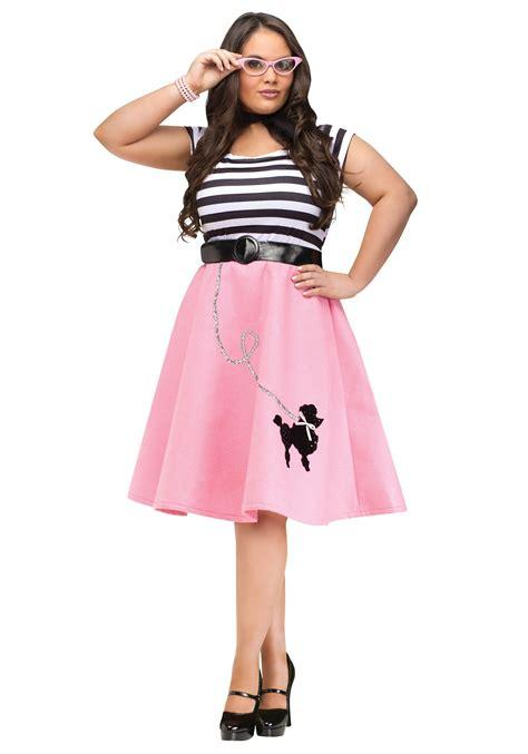 size poodle skirt dress