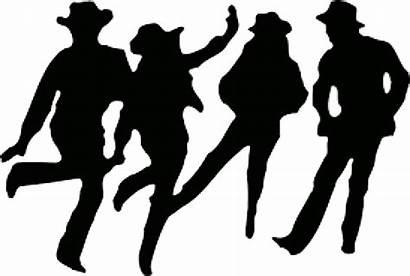 Dance Country Line Dancing Clipart Clip Danse