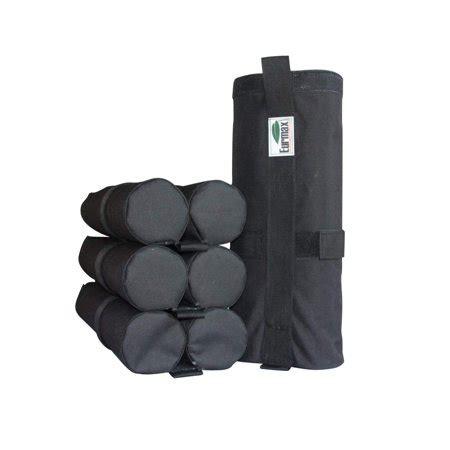 eurmax weight bags  ez pop  canopy outdoor gazebo folding tent leg weights pcs pack