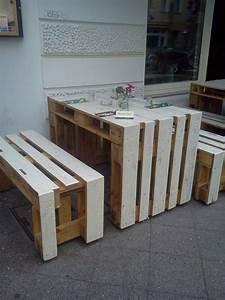 Terrassenmöbel Aus Paletten : pi di 25 fantastiche idee su tisch aus europaletten su ~ Michelbontemps.com Haus und Dekorationen
