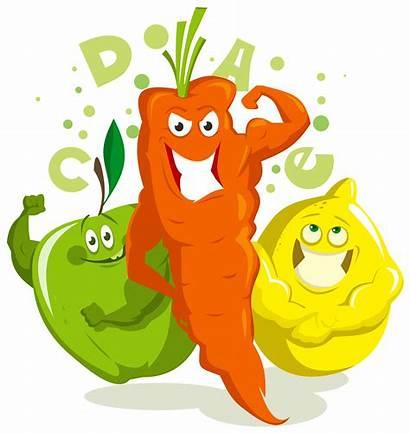 Vitamins Clipart Minerals Clip Cliparts Vitamin Foods