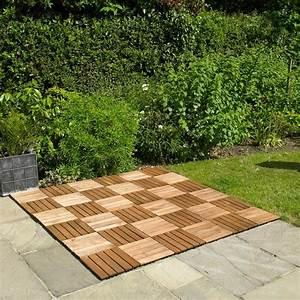 4, X, 9, Pack, Wooden, Deck, Floor, Tiles, Decking, Garden, Wood, Terrace, Flooring, Wido