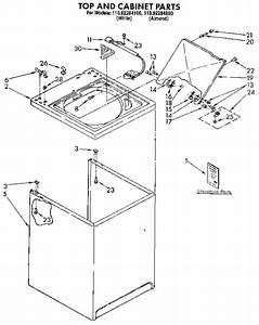Kenmore 11092284100 Washer Parts