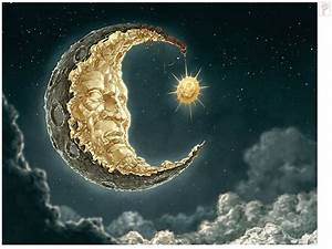 Moon and Sun by *Papierpilot Digital Art / Drawings ...