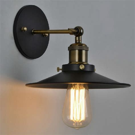 vintage plated industrial wall l retro loft led wall