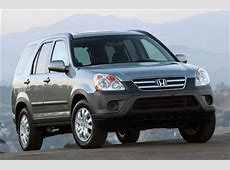 2006 Honda CRV Review