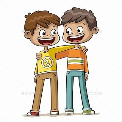 Friends Boys Characters Graphicriver Google