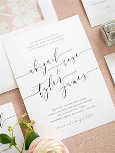 clean simple elegant wedding invitations from shine With elegant wedding invitations com