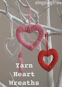 Simply Stylish Easy Wool Heart Wreath Decorations | Kids ...