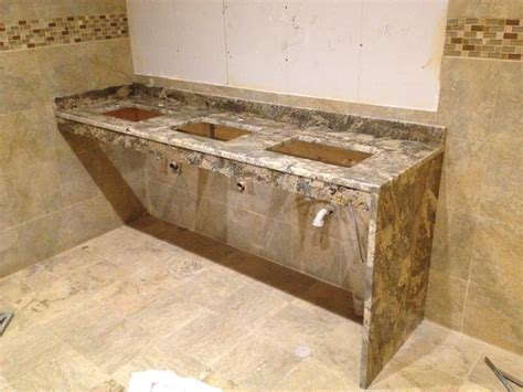 neptune bordeaux granite countertops commercial vanity