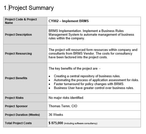 project proposal template  project management templates