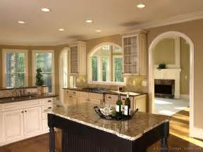 kitchen wall paint color ideas pictures of kitchens traditional white antique kitchen cabinets page 4