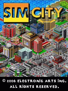 java game simcity metropolis  mobil phone