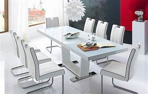 table laque 8 places chaioscom With salle a manger 8 places