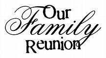 Family Reunion Logo PNG Image   PNG Mart