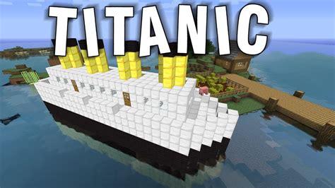 minecraft titanic sinking server ip minecraft titanic disaster