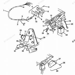 Polaris Atv 1998 Oem Parts Diagram For Electrical