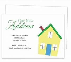1000 images about moving announcements new address for Moving home cards template