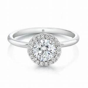 Round diamond engagement rings with halo forevermark for Halo engagement rings with wedding bands