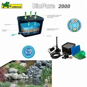 Filtre Bassin Exterieur : filtre pour bassin ext rieur biopure 2000 set de base ~ Melissatoandfro.com Idées de Décoration
