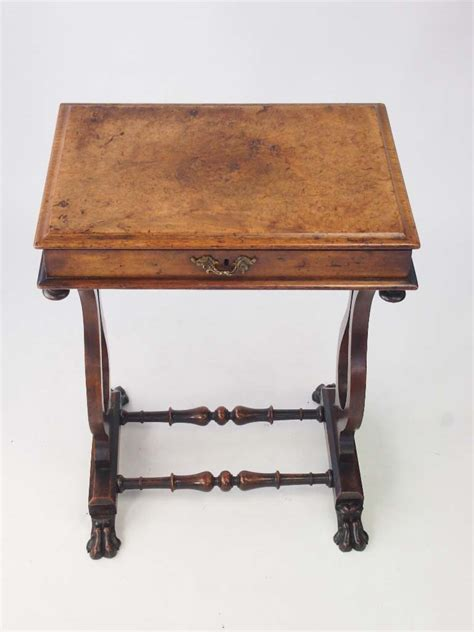 small antique side tables small walnut side table work table 5346