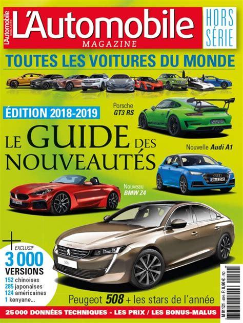 l automobile magazine quot toutes les voitures du monde 2018 2019 quot arrive en kiosques l automobile magazine