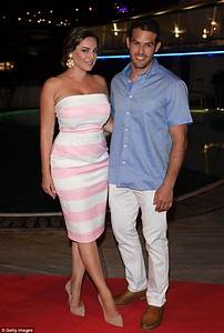 kelly brook flaunts her chest as she and jeremy parisi With kelly evans wedding ring