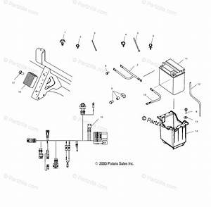 Polaris Side By Side 2004 Oem Parts Diagram For Electrical